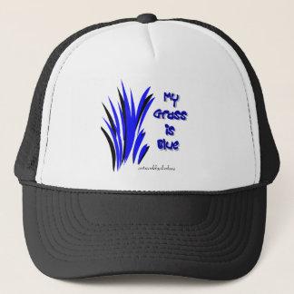 青い草、darleneによるアートワーク キャップ