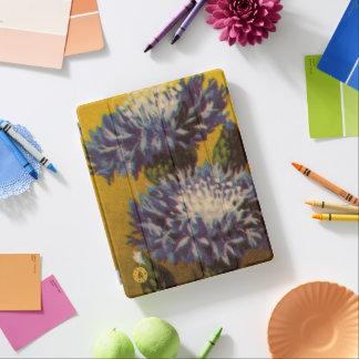 青い菊 iPadスマートカバー