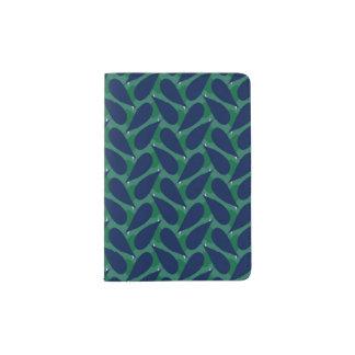 青い葉のパスポート パスポートカバー