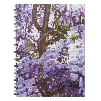 青い藤2011年 ノートブック