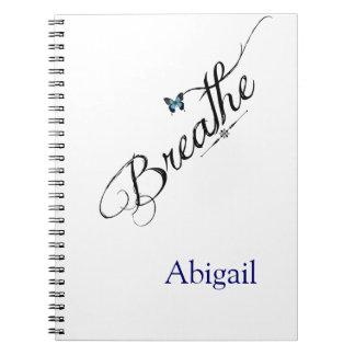 青い蝶と呼吸して下さい ノートブック