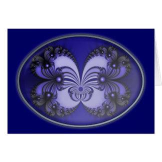 青い蝶フラクタル200706070030 カード