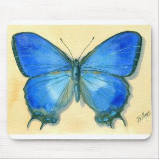 青い蝶マウスパッド マウスパッド