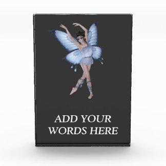 青い蝶妖精のプリンセス 表彰盾