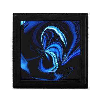 青い蝶抽象芸術 ギフトボックス
