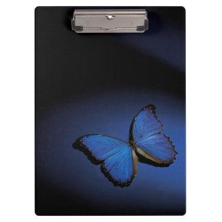 青い蝶 クリップボード