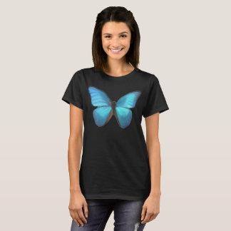 青い蝶 Tシャツ