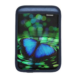 青い蝶iPad Miniの垂直袖 iPad ミニ スリーブ