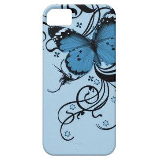 青い蝶iPhone 5の箱 iPhone SE/5/5s ケース