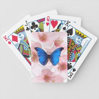 青い蝶playiingカード バイスクルトランプ
