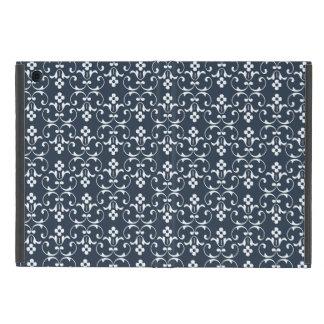 青い装飾用パターン iPad MINI ケース