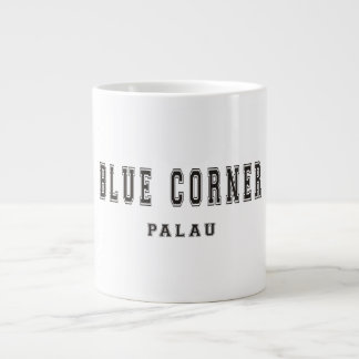 青い角のパラオ諸島 ジャンボコーヒーマグカップ