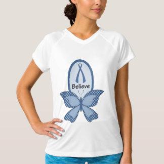 青い認識度を信じて下さい Tシャツ