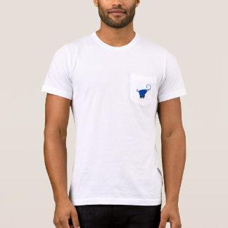 青い象のワイシャツ Tシャツ
