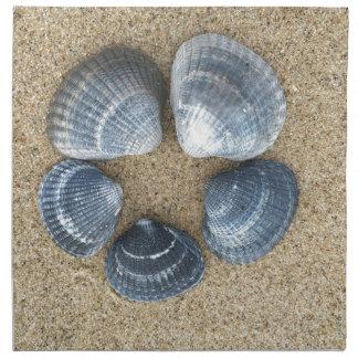 青い貝 ナプキンクロス