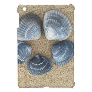 青い貝 iPad MINIケース
