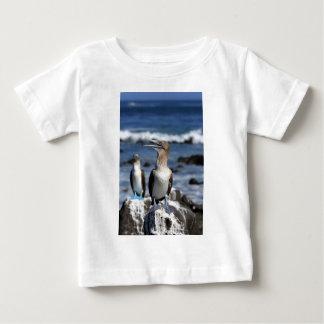 青い足の最下位のガラパゴス諸島 ベビーTシャツ
