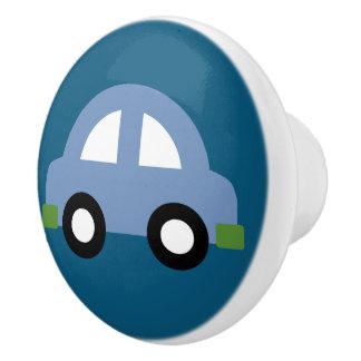 青い車のノブまたは引出しの引き セラミックノブ
