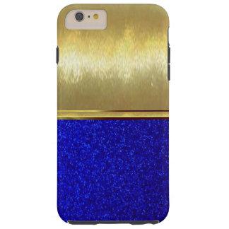 青い輝きのダイヤモンドの質のiPhone 6の細い場合 Tough iPhone 6 Plus ケース