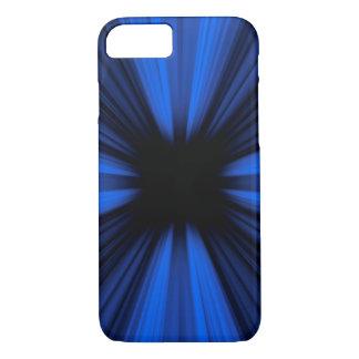 青い速度は爆発を並べます iPhone 8/7ケース