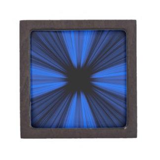 青い速度ライン ギフトボックス