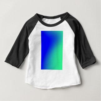 青い遊牧民の勾配 ベビーTシャツ