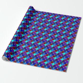 青い道化師の包装紙 ラッピングペーパー