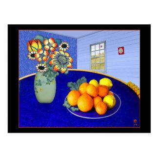 青い部屋# 1 ポストカード