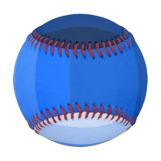 青い野球の陰 野球ボール