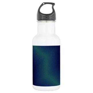 青い金属 ウォーターボトル