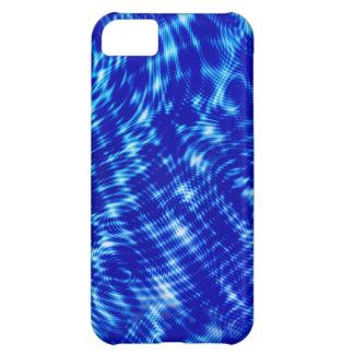 青い金属 iPhone5Cケース
