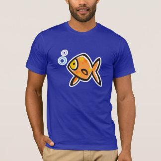 青い金魚 Tシャツ