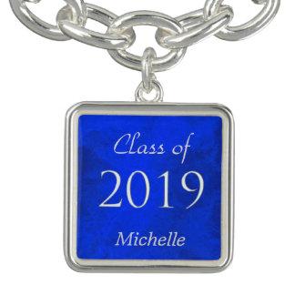 青い銀の卒業生2019年 チャームブレス