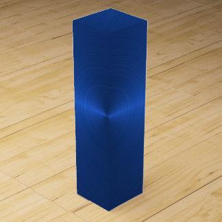 青い鋼鉄ワイン用化粧箱 ワインギフトボックス