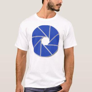 青い開きの刃 Tシャツ