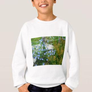 青い開花した橋 スウェットシャツ