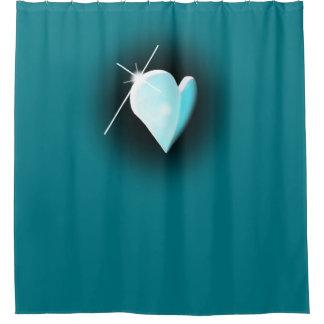 青い雄鹿 シャワーカーテン