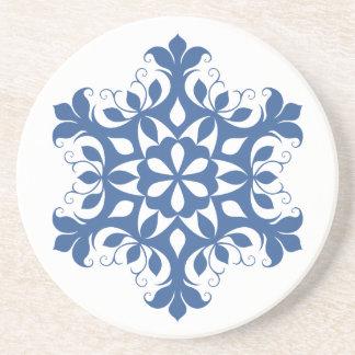 青い雪片のコースター コースター