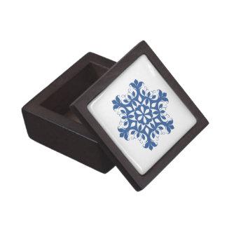 青い雪片の優れたギフト用の箱 ギフトボックス
