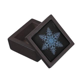 青い雪片の記念品箱 ギフトボックス