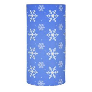 青い雪片の雪片 LEDキャンドル