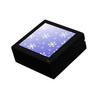 青い雪片箱 ギフトボックス
