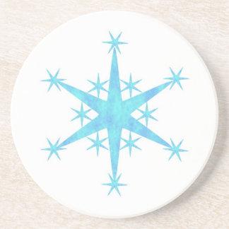 青い雪片 コースター