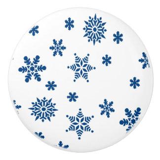青い雪片 セラミックノブ