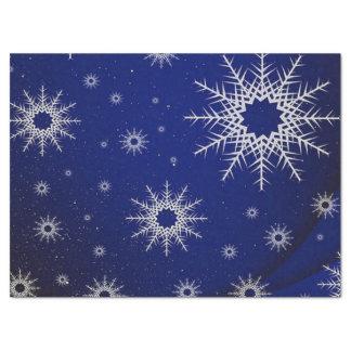 青い雪片 薄葉紙