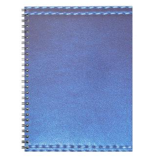 青い革終わりのテンプレートDIYは文字のイメージ99を加えます ノートブック