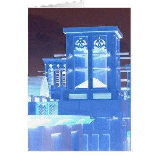 青い風タワー カード