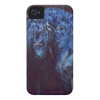 青い馬の電話箱 iPhone 4 Case-Mate ケース