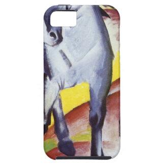 青い馬フランツ・マルク著I iPhone SE/5/5s ケース