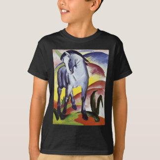 青い馬フランツ・マルク著I Tシャツ